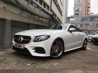 MERCEDES-BENZ E300 AMG coupe 2018