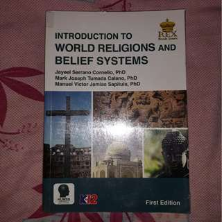 Introduction to World Religions and Belief Systems SHS Textbook