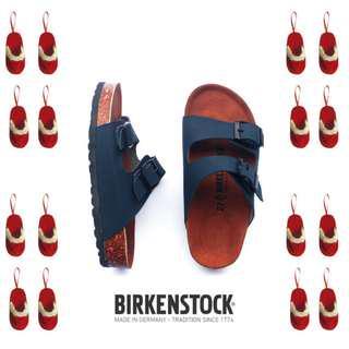 Sandal Birkenstock Anak tanggung Gesper 2 Navy (Arizona).