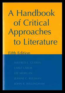 A Handbook of Critical Approaches to Literature in Pdf
