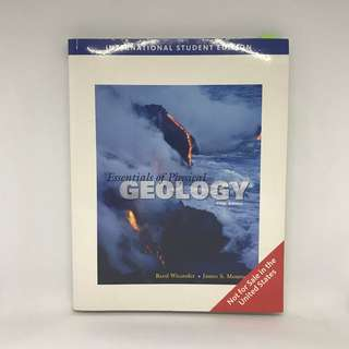 The Essentials Of Geology | Geography Textbook