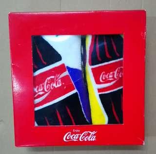可口可樂洗面毛巾一盒二條