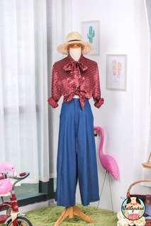 🍿 Vintage Blouse VB1656