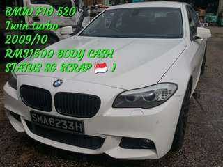 BMW F10 520 Twin turbo 2009/10 RM31500
