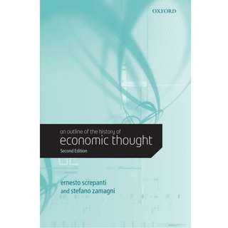 An Outline of the History of Economic Thought (578 Page Mega eBook)