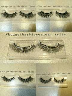 ✨ READY STOCK LASHES ✨ Faux Mink and Human Hair Lashes
