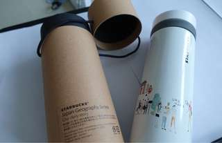 Starbucks tumbler Japan Geography Series Tokyo Special Edition