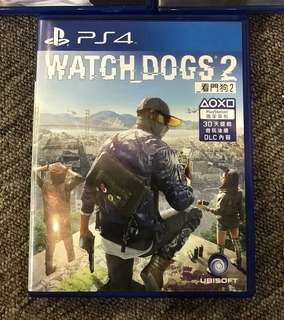 Watch Dogs 2 (Sony Playstation PS 4 Watchdogs)