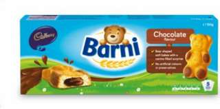 新野!🐻吉百利熊熊夾心蛋糕Cadbury Barni
