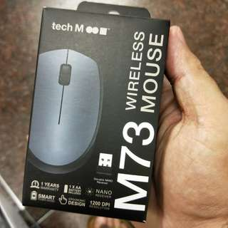 BNIB TechM Wireless Mouse