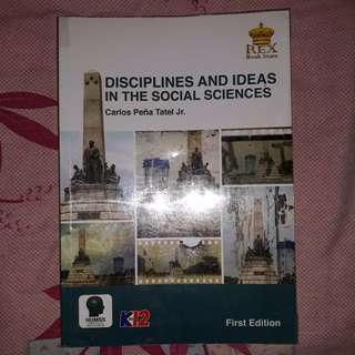 Disciplines and Ideas in the Social Sciences SHS Textbook