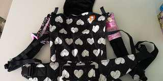 Tula wild heart carrier (comes with drool pad - faith love hope)