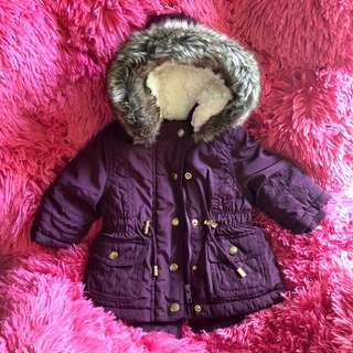 F&F baby winter coat