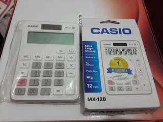 Calculator casio