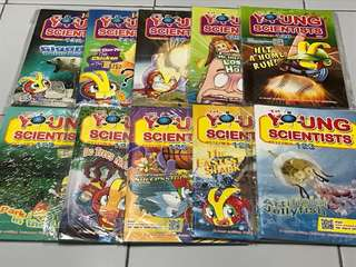 Young scientists 123-132 Children science magazine book
