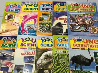Young scientists children science magazine level 3