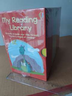 My Reading Library From Usborne