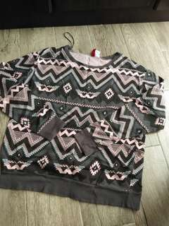 H&M Printed Sweater