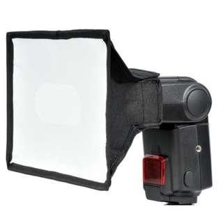 🚚 神牛 Godox 15*20 cm Flash Diffuser Flash Softbox 柔光罩 柔光箱