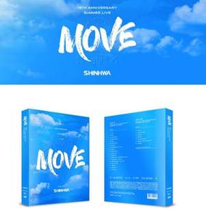 [Pre-order] SHINHWA 신화 - 19TH ANNIVERSARY SUMMER LIVE [MOVE] DVD (2 DISC)