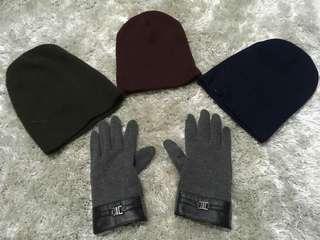Topi dan sarung tangan (dewasa)