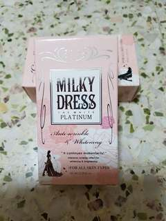 Milky dress the white platinum