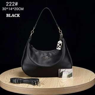Coach Handbag Black Color