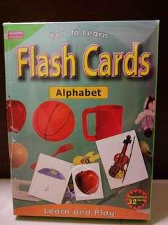 BN Alphabet Flashcard