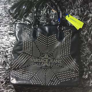 Versace Jeans bag large star pattern