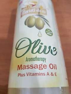 Mariati Olive aromatherapy massage oil
