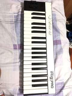 Irig pro keys