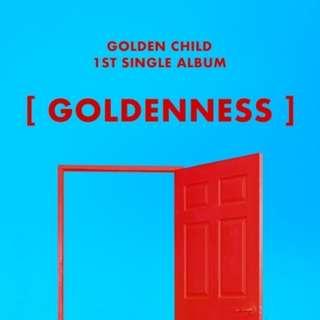 Golden Child 1st Single Album- Goldenness