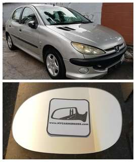 Peugeot 206 207 Naza Bestari side mirror all models and series
