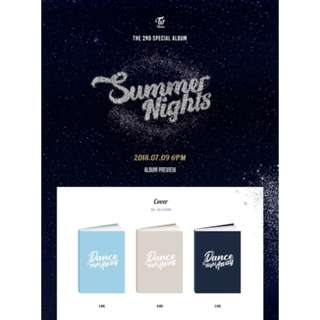 TWICE 2nd Special Album - Summer Nights