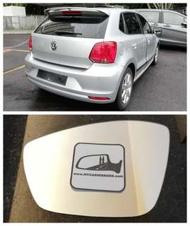 Volkswagen VW Polo side mirror all models and series