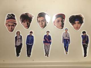 NCT LIMITLESS MEMBER STICKERS