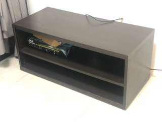 TV Console - Black, Simple