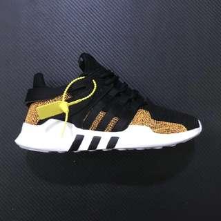 Adidas EQT Support ADV Parley 黑金 海洋之星 編織 跑鞋 男女