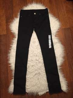 UNIQLO Black Skinny Jeans for Girls