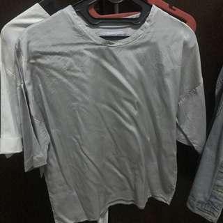 Nikicio silver shirt