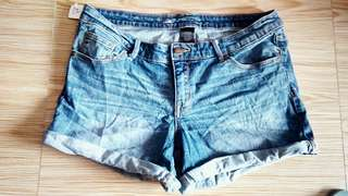 Mossimo  denim cut off shorts for plus and large