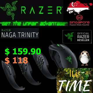Razer Naga Trinity - Multi-color Wired MMO. ( Offer till 15 July 2018...End )