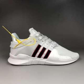 Adidas EQT Support ADV 灰白 編織 跑鞋 BB6778