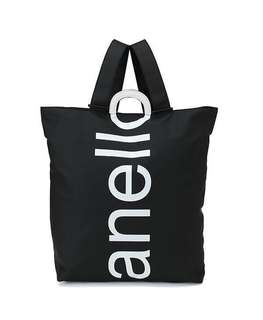 "Anello ""O"" Handle Two Way Tote Rucksack"