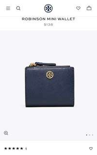 Tory Burch robinson mini wallet 4️⃣colours