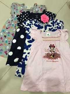 Dress mix (3-4yrs) isi 4