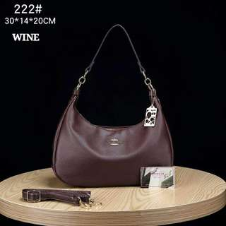 Coach Handbag Wine Color