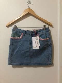 COTTON ON | Denim mini skirt