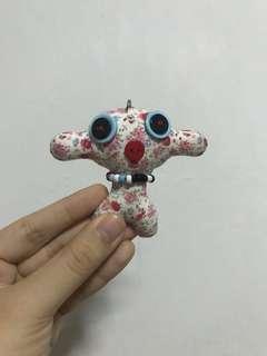 Cute alien keychain