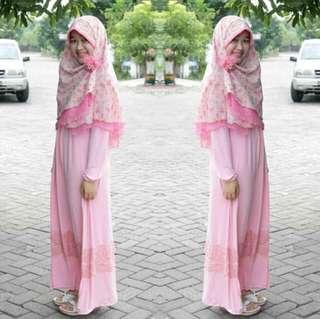 Set Syar'i dress